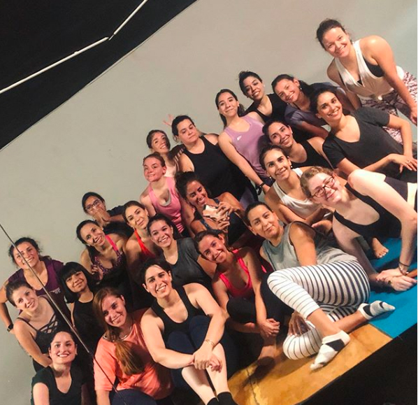 tempo workout group class  clase tempo workout cardiodance