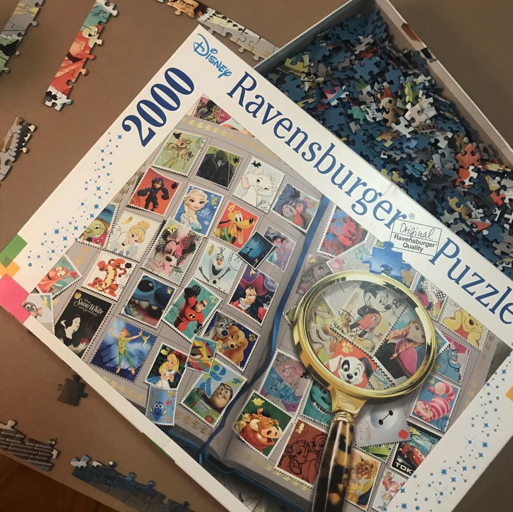 Ravensburger 2000 piece Disney Jigsaw Puzzle
